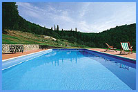 Villa Vistarenni - The Swimming Pool