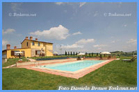 Agriturismo Zoccolino - View from the pool to the house
