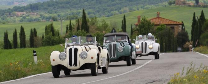 Verkehrsaufkommen und Staus Toskana Italien
